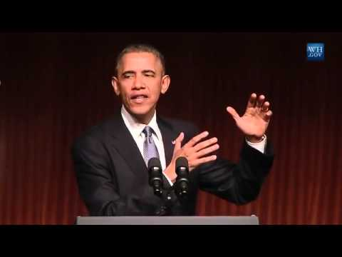 Obama Addresses Civil Rights Summit- Full Speech