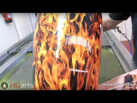 Water Transfer Printing - Hydrographics for Motorcycle Industry - (hgarts.com)