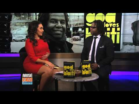 Dimitry Elias Léger | first TV interview for his debut novel God Loves Haiti.