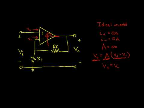 Op Amp Circuit Analysis: Non-Inverting Amplifier (Edited)