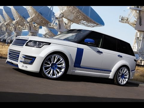 2014 LUMMA Design CLR RS Range Rover Sport - YouTube