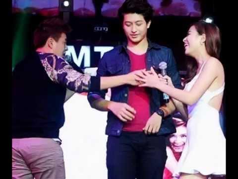 Bạn trai tin đồn ôm chặt Hoàng Thùy Linh trên sân khấu