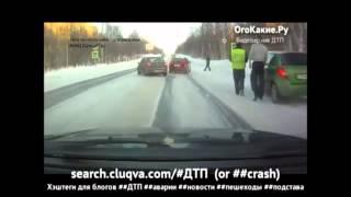 Подборка ДТП с видеорегистраторов 27 \ Car Crash compilation 27