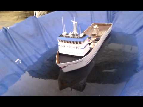 F v northwestern rc motor and balance tests youtube for Fish catching rc boat