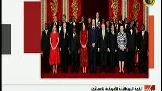 الرئيس السيسي يشارك في حفل الاستقبال
