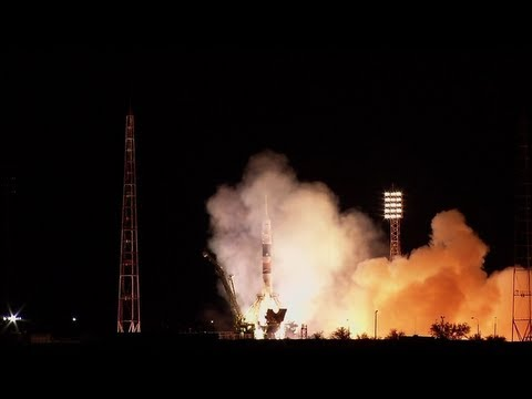 Expedition 37/38 Launches to the International Space Station