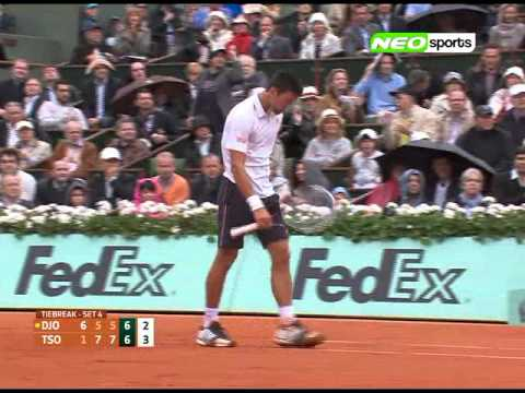 Novak Djokovic vs Jo-Wilfried Tsonga (Part 2) Day 10 Highlights