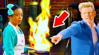 Top 10 Gordon Ramsay MasterChef Junior Moments (Season 4)