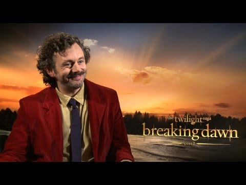 'Breaking Dawn 2' Michael Sheen Interview