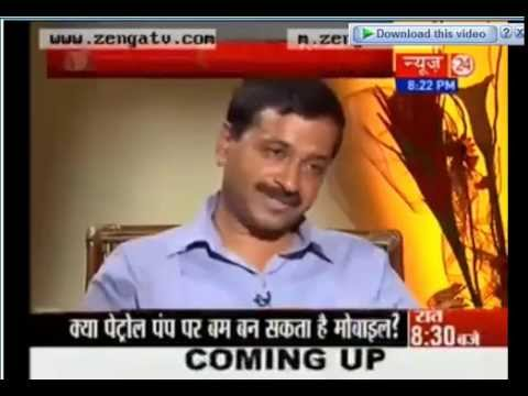Arvind Kejriwal's Interview on News 24 - Must Watch High Quality