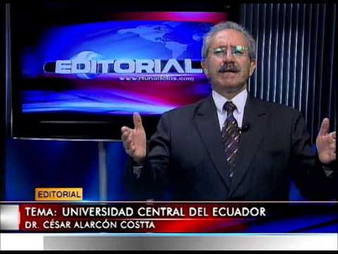 Editorial RTU Noticias 18/03/2014 Tema: Universidad Central del Ecuador