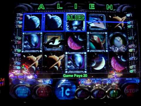 online alien slot machine