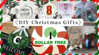 8 DOLLAR TREE DIY CHRISTMAS GIFT IDEAS | Cheap Christmas Gift Ideas | Momma from scratch