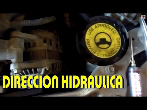 Cambio de liquido de direccion hidraulica