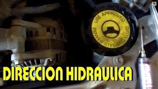 Aprende a cambiar el aceite de dirección hidráulica