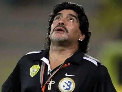 He is a legend , Maradona
