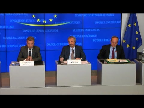 Meeting of the TTE Council (Energy), Luxembourg 13.06.2014 - Press Conference