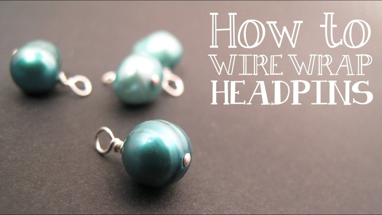 How to wire wrap a bead dangle wire wrapped loop for Step by step wire jewelry subscription