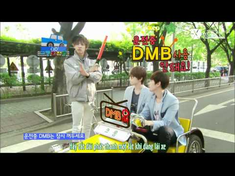 [EXOTICVNSUB][Vietsub+Kara] 120603 EXO-K Traffic Safety Song