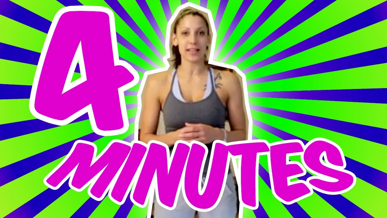 BURN FAT FAST Tabata Workout : You Have 4 Minutes #1 ...