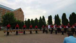 2013 Santa Clara Vanguard Drumline in HD | UNBELIEVABLY CLEAN!!!