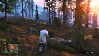 GTA V (GTA 5): Animal Hunting Gameplay (Xbox 360)