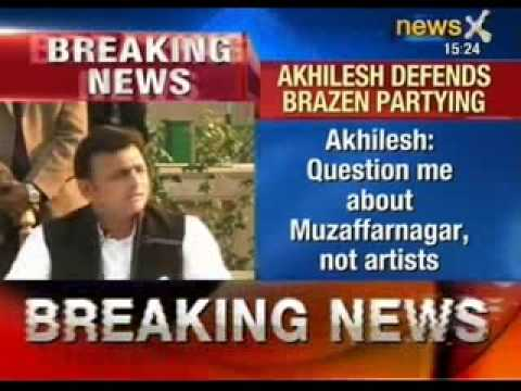 Akhilesh Yadav defend Saifai festival in his press conference - NewsX