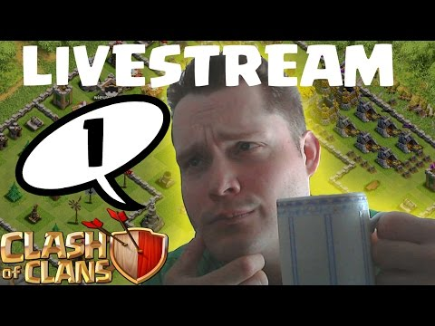 CLASH OF CLANS LIVESTREAM TEIL 1 || Stream vom 21.07.2014 || LP COC [Deutsch/German HD]
