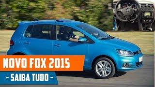 Novo Fox 2015 Preço, Consumo, Ficha Técnica, Fotos