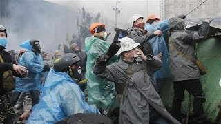 Gunfire, Violence Resume in Kiev, Truce Is Broken