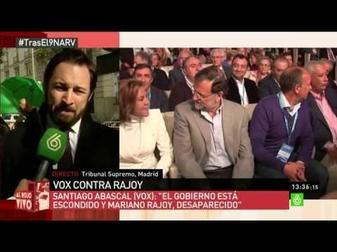 La Sexta Al Rojo Vivo- Entrevista Santiago Abascal