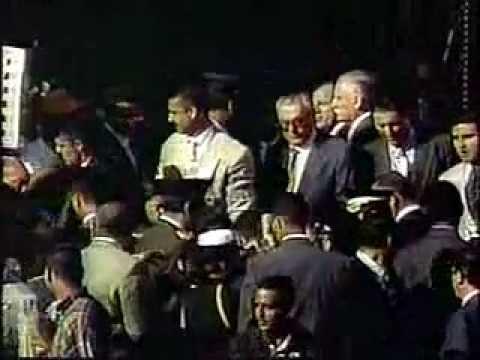 LEGADO DEL CMDTE. Caminata de Chávez desde Miraflores al Panteón 02-FEB-1999