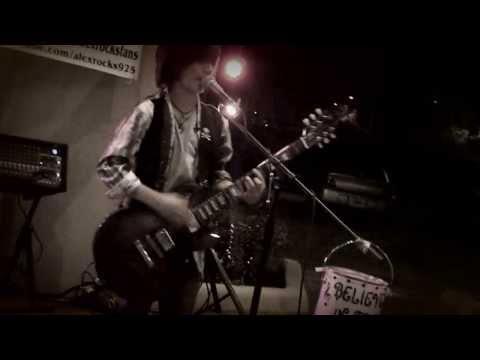 Voodoo Chile' ~ Hendrix cover by Alex Shaw~ 12 yr old lead guitarist Feb 2013