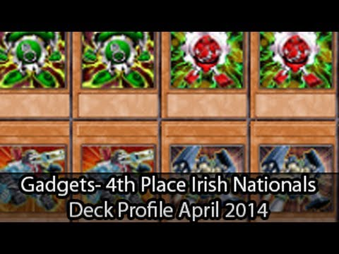 Chain Gadgets - 4th Place Irish Nationals Cormac Haydon - Yugioh Deck Profile April 2014