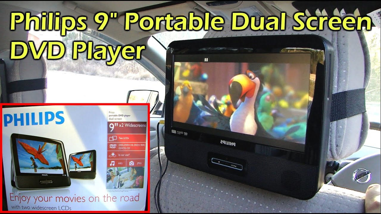 How to install headrest dvd