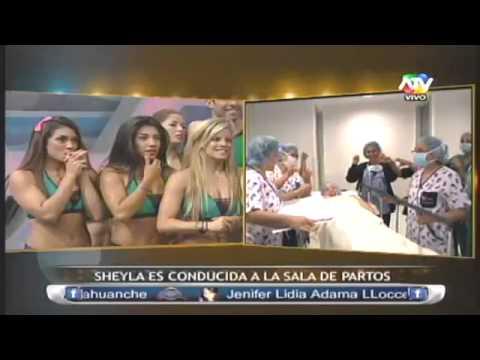 Sheyla ingresa a la Sala de Partos 15/04/13