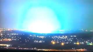 Comet Ison 11/25/2013 UFOS SILENTLY ZAPP US MILITARY BASE