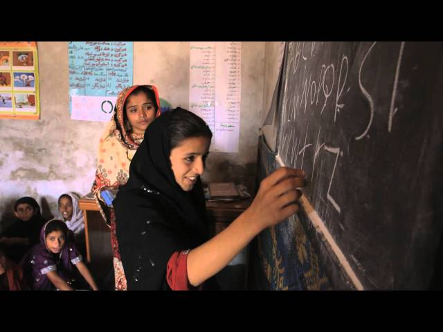 Lift off for girls education in Pakistan