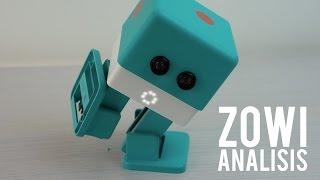 Zowi, un robot con cerebro Arduino