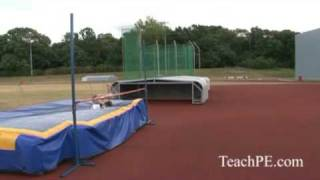 Improving High Jump Technique Fosbury Flop