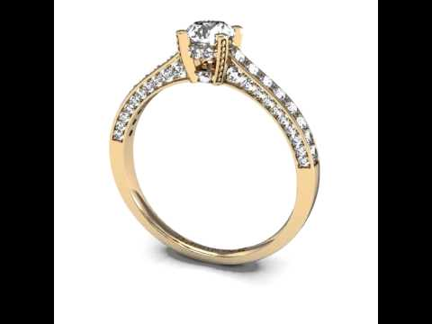 engagement ring settings a quel doigt porter une bague de fian ailles. Black Bedroom Furniture Sets. Home Design Ideas