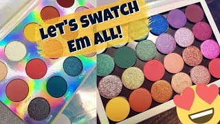 Swatching The New Colourpop Eyeshadows