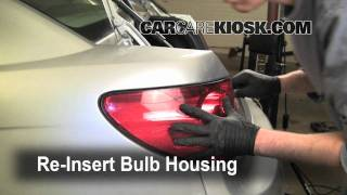 How To Replace The Headlight, Turn Signal, Brake Light On
