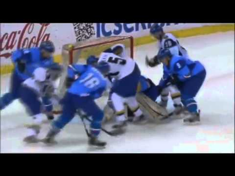 Italy vs. Kazakhstan - 2013 IIHF Ice Hockey World Championship Division I Group A