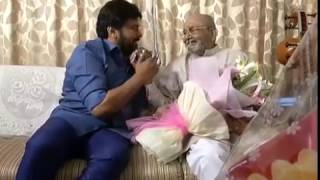 Chiranjeevi Congratulates K Vishwanath On Receiving The Dadasaheb Phalke Award