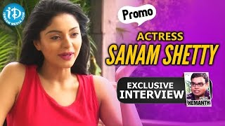Srimanthudu Fame Sanam Shetty Exclusive Interview Promo