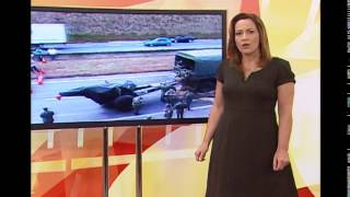 Acidente com ve�culos do ex�rcito mata tr�s e 22 ficam feridos