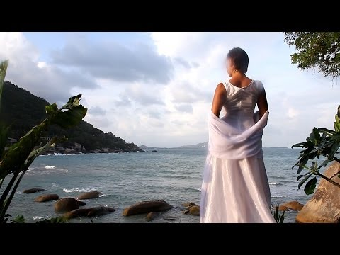 Bride on the tropic island | Самуи. Таиланд. Девушка в белом.