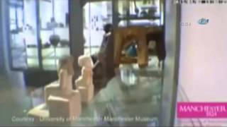 Hareket eden heykelin gizemi çözülemiyor