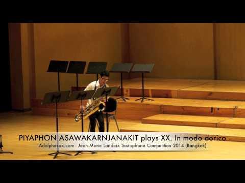 PIYAPHON ASAWAKARNJANAKIT plays XX In modo dorico